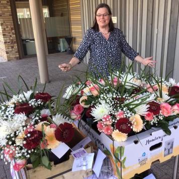 Bloemen voor verzorgingstehuizen