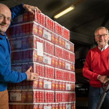 DE-koffie voor Voedselbank Raalte e.o.